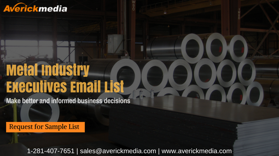Metal Industry Executives Email List (1)